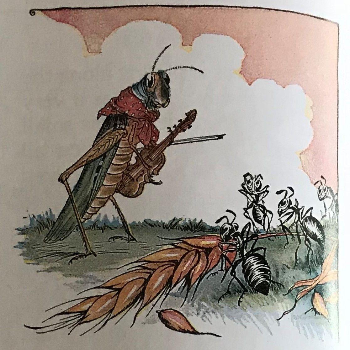 The Ants Amp The Grasshopper