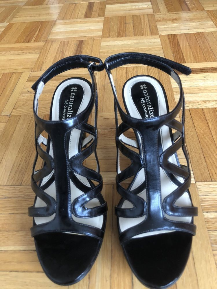 d22bef2b1534 NATURLIZER BLACK Danya Dressy SIZE 9  Sandals  fashion  clothing  shoes   accessories  womensshoes  sandals (ebay link)