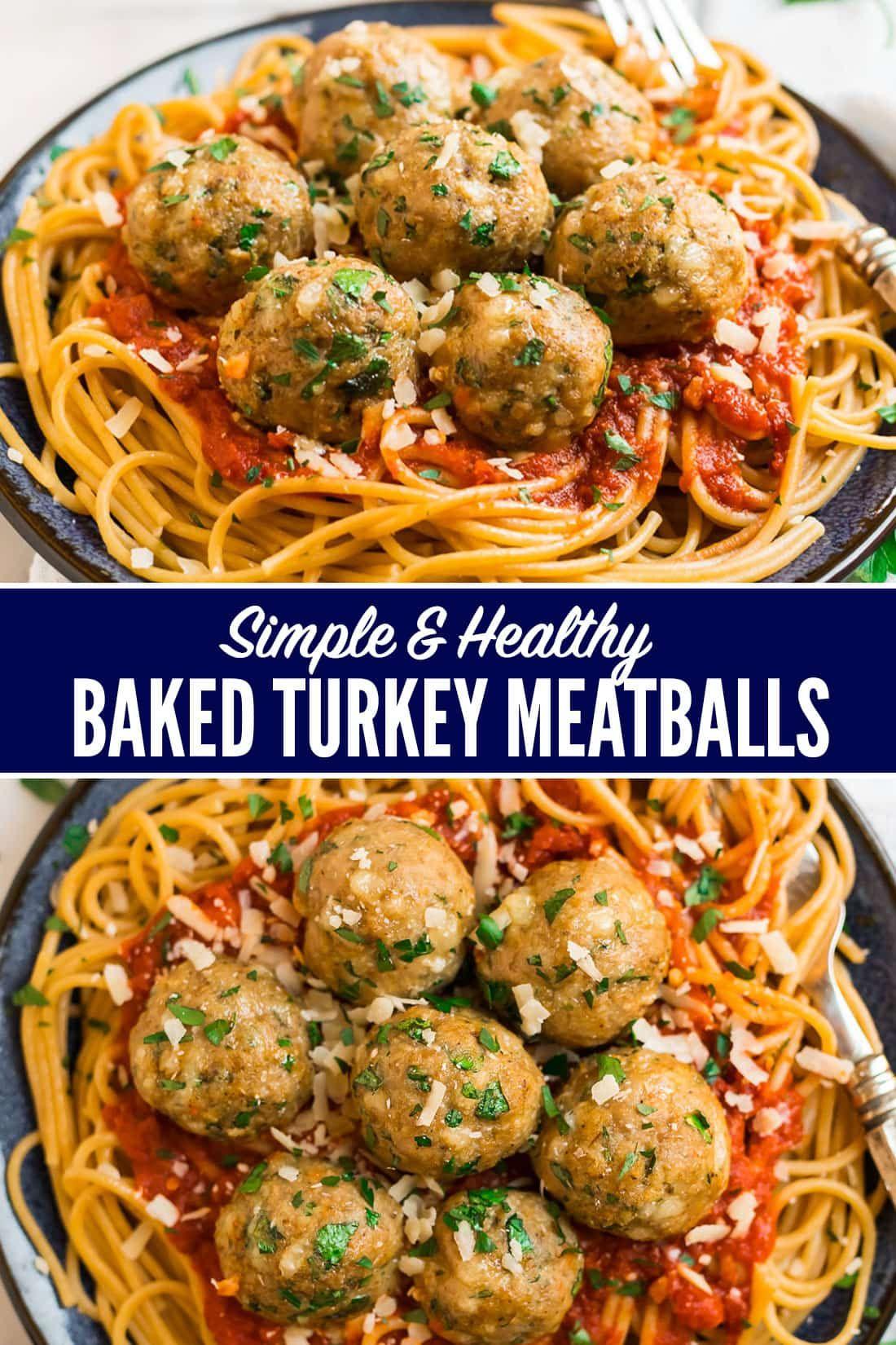 Photo of Baked Turkey Meatballs