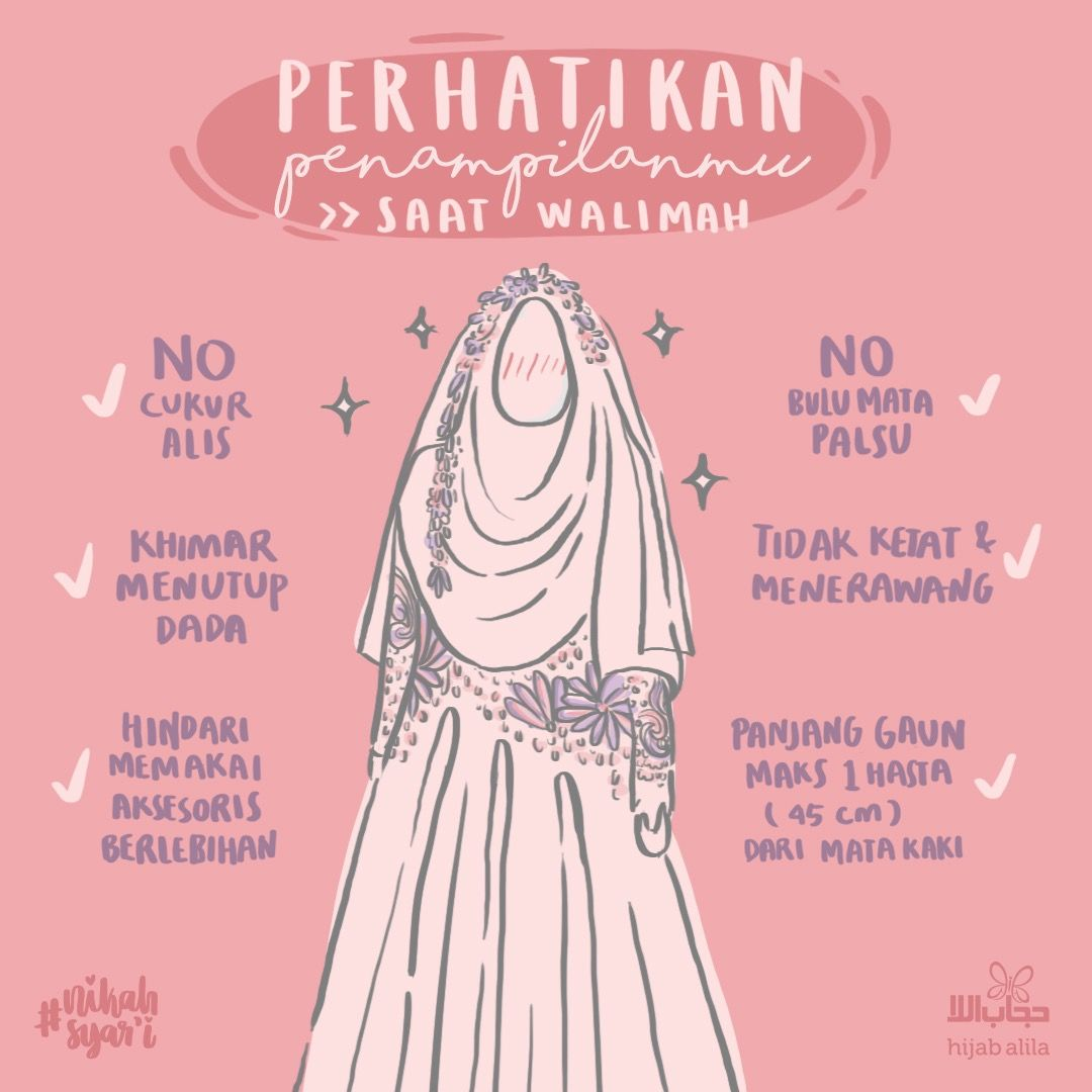 Perhatikan Hal Hal Ini Pada Hari Bahagiamu – Hijab Alila