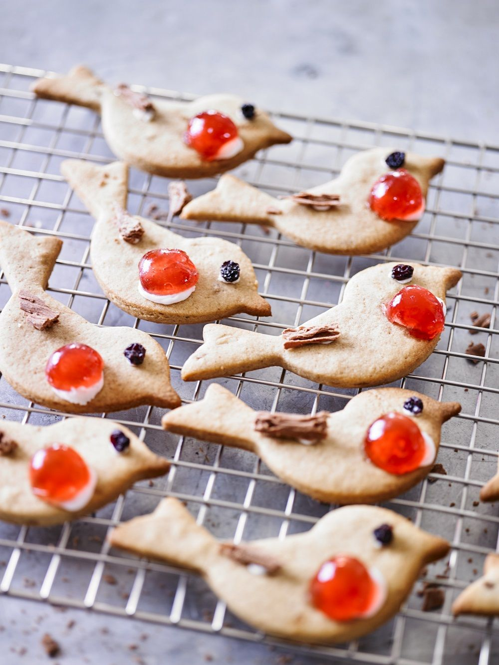 Mixed Spiced Christmas Robin Biscuits Christmas Food And Drink