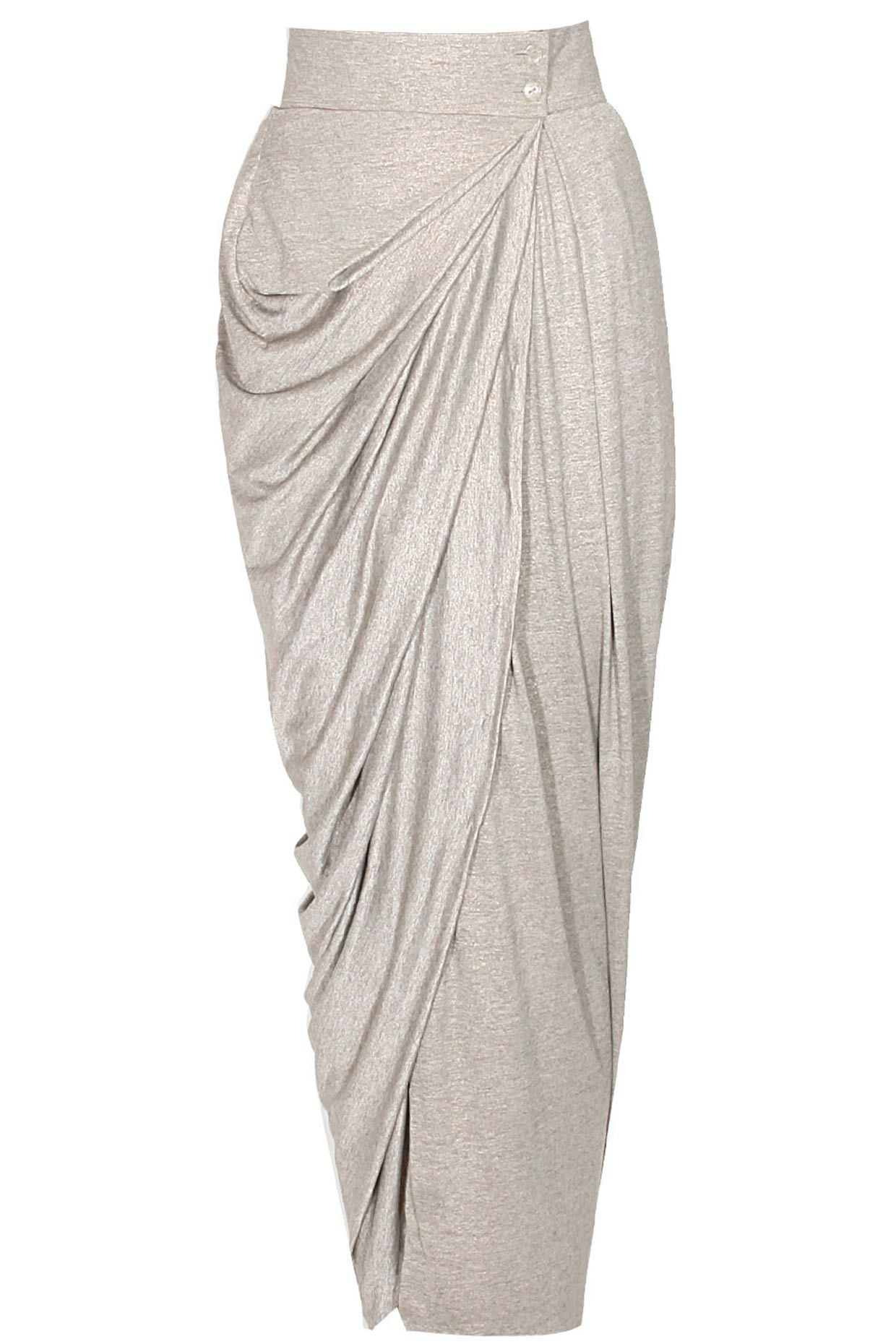 indian product fashion designer by draped beige apparel dresses with drapes skirt drape and shrug gowns original online copy buy details top