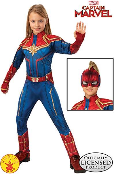Amazon Com Rubie S Captain Marvel Children S Deluxe Hero Suit Medium Toys Games Marvel Costumes Captain Marvel Costume Captain Marvel Halloween Costume Carol danvers full set includes: pinterest
