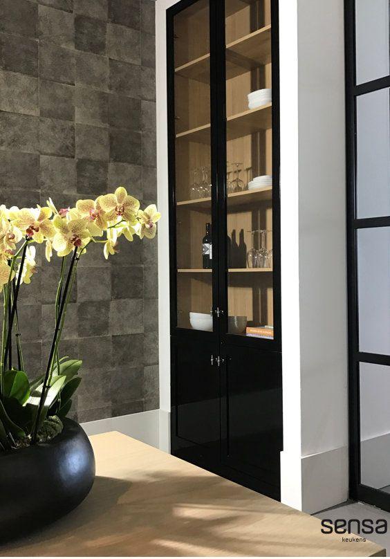 Crockery cabinets I High gloss black I Painted I Elites …