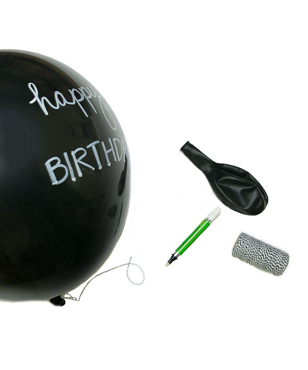 Chalkboard Balloons & Chalk