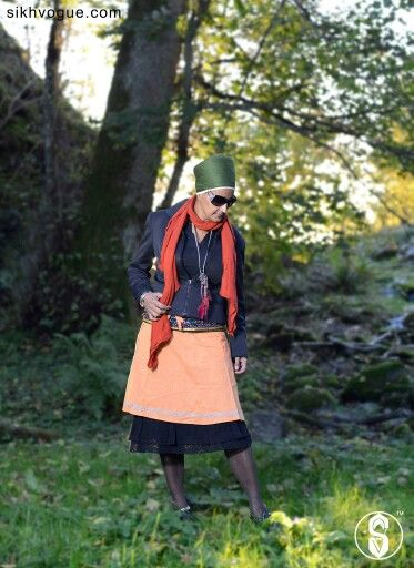 Turban Chiq  Model: Susheel Kaur Location: Sweden Profession: Teacher and Bhangra Trainer  www.sikhvogue.com  #Sweden #turban #model #Sikh #fashion #photography #nature #magazine #kaur #sikhvogue