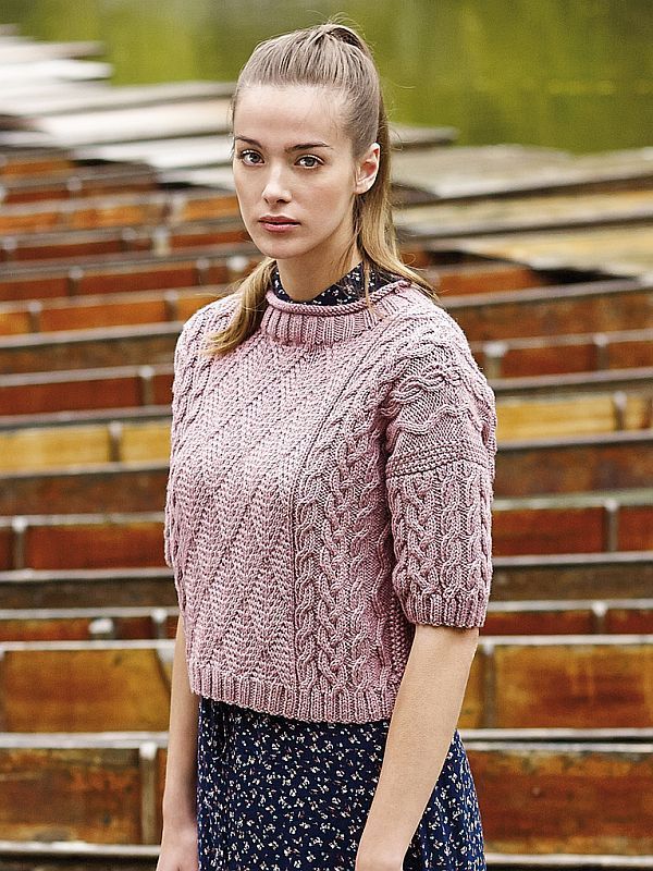 Kerrera From Rowans Pure Wool Worsted Collection Knitting Adults