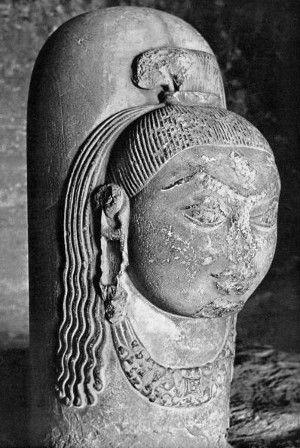 Linga (Ekamukhalinga) V sec. a.C. - Madhya Pradesh, Tempio di Udayagiri