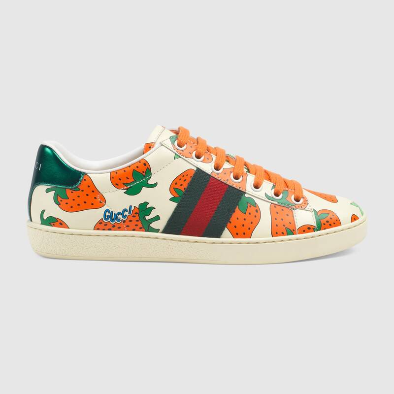Gucci ace sneakers, Leather sneakers