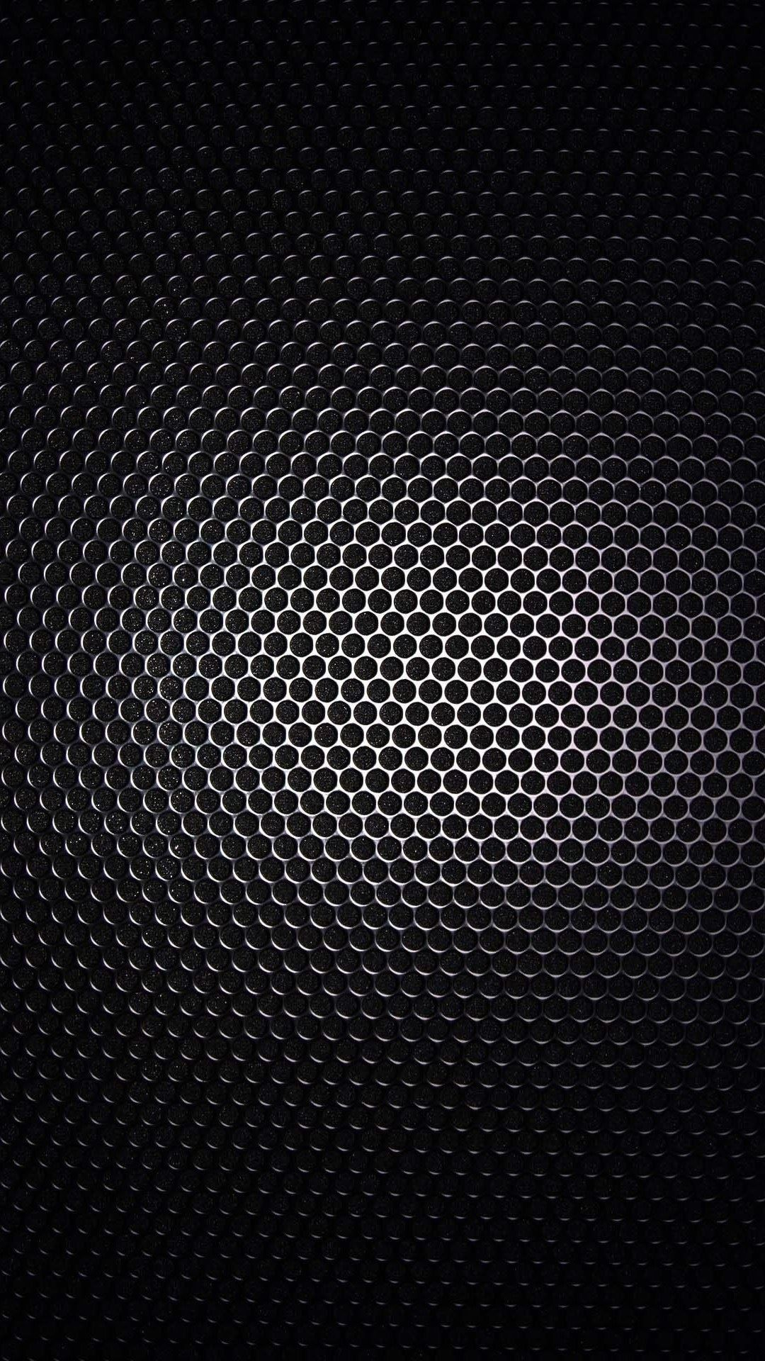 Dark Metal Hexagons Grid Pattern 4k Hd Android And Iphone