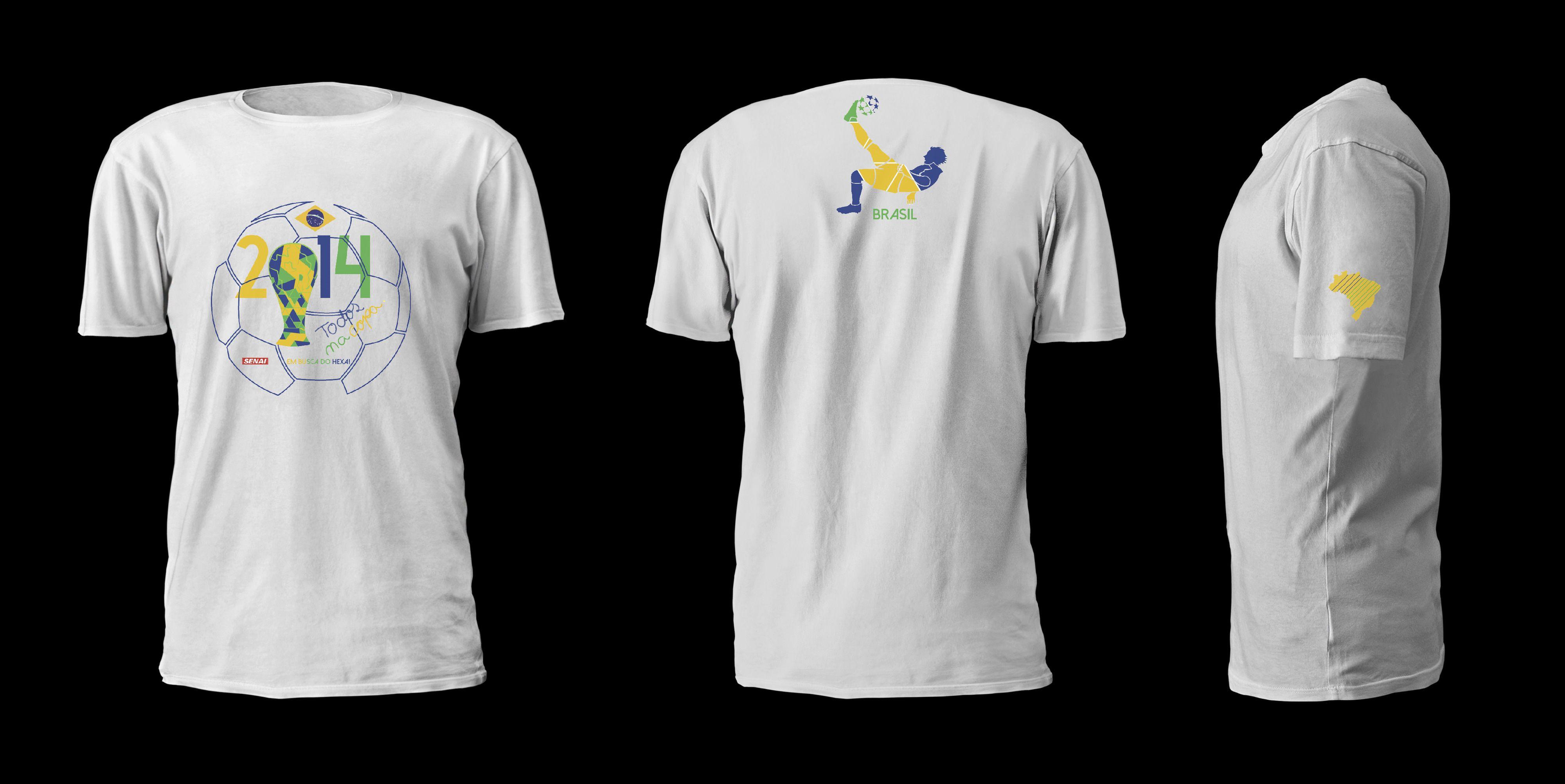 Mockup Camiseta da Copa.  5fdb130cd71