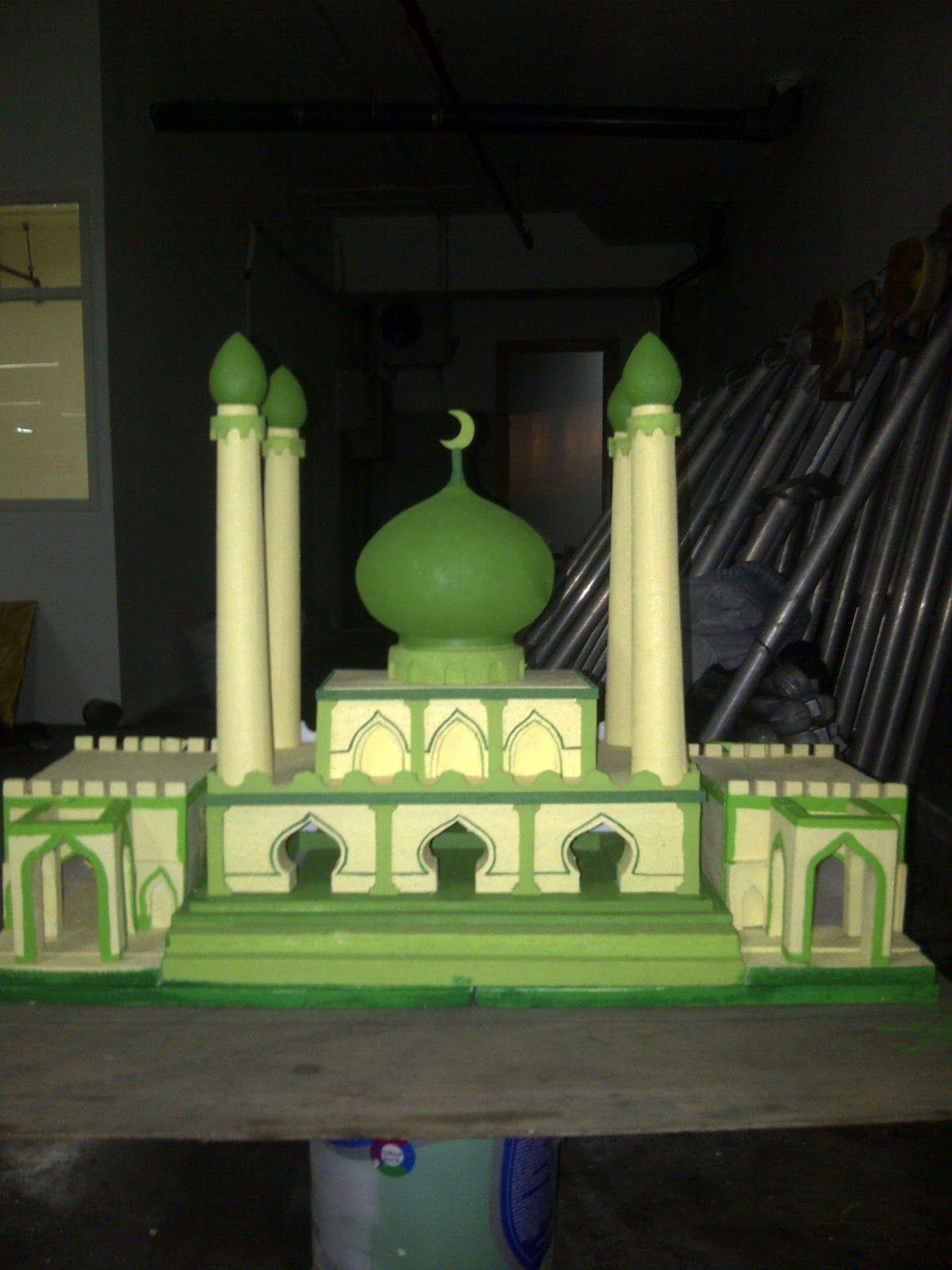 Miniatur Masjid Dari Styrofoam : miniatur, masjid, styrofoam, Dekorasi, Styrofoam, Miniatur, Masjid, Seniman, Bangun, Pakai, Pembuatan, Mahar, Anaria…, Miniatur,, Gambar,
