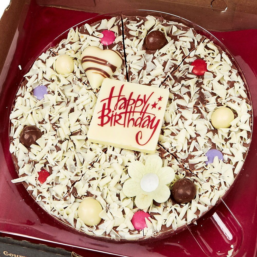 Chocolate Pizza Delivered anywhere in UK. Send a Chocolate