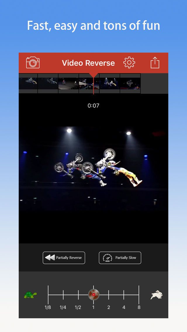 Video Reverse Free Reverser App to rewind,backward videos