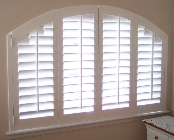 Indoor Shutters On Eyebrow Window Google Search Dining Room In