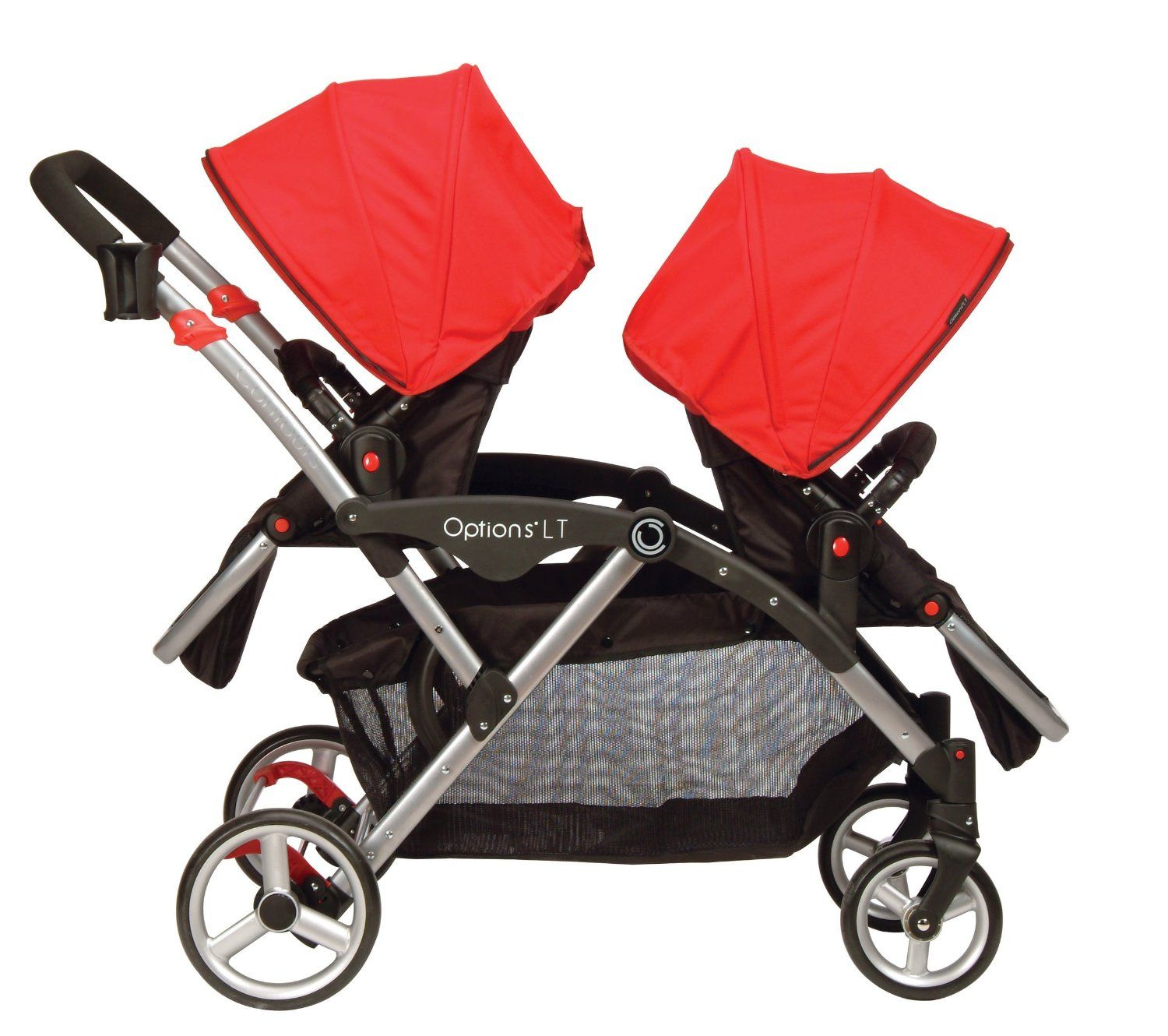 "another good light weight option for double stroller Contours Options LT Tandem Stroller Crimson Red Contours Babies ""R"" Us"