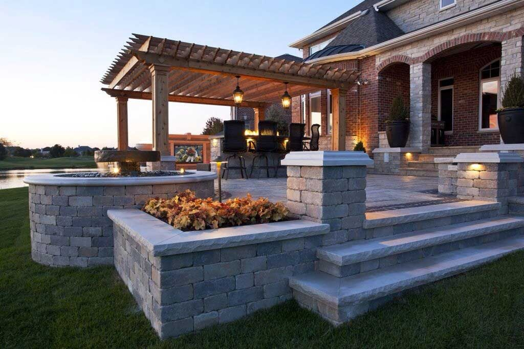 landscaping paver patios jrs creative landscaping