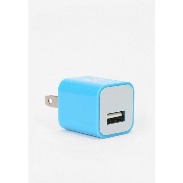 Usb Plug-In Wall Charger ($10) ❤ liked on Polyvore