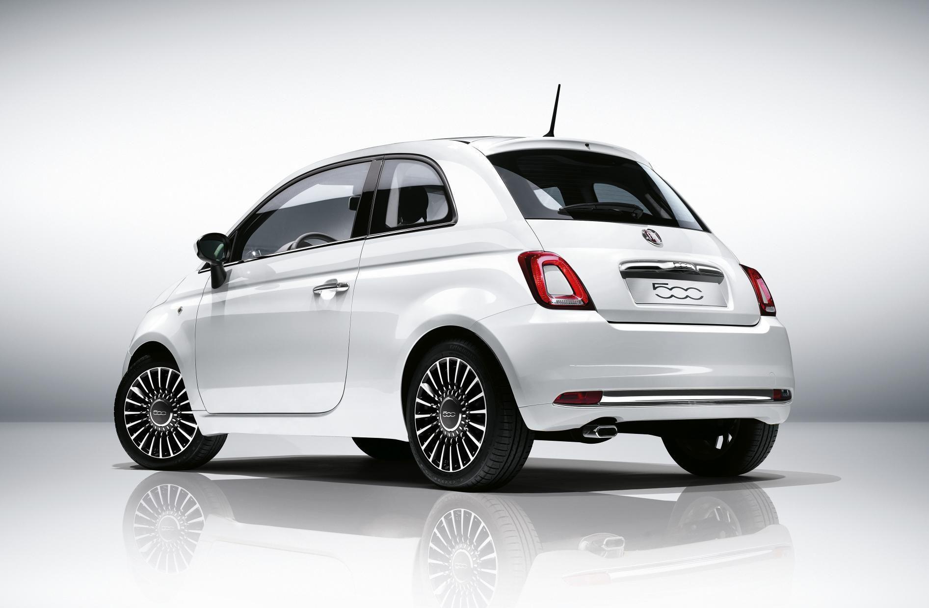 Fiat 500 Rear View Novo Fiat Super Carros