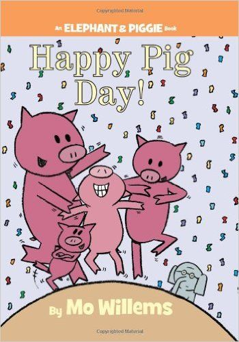 Great for teaching little kids about emotions Happy Pig Day! (An - new mo willems coloring pages elephant and piggie