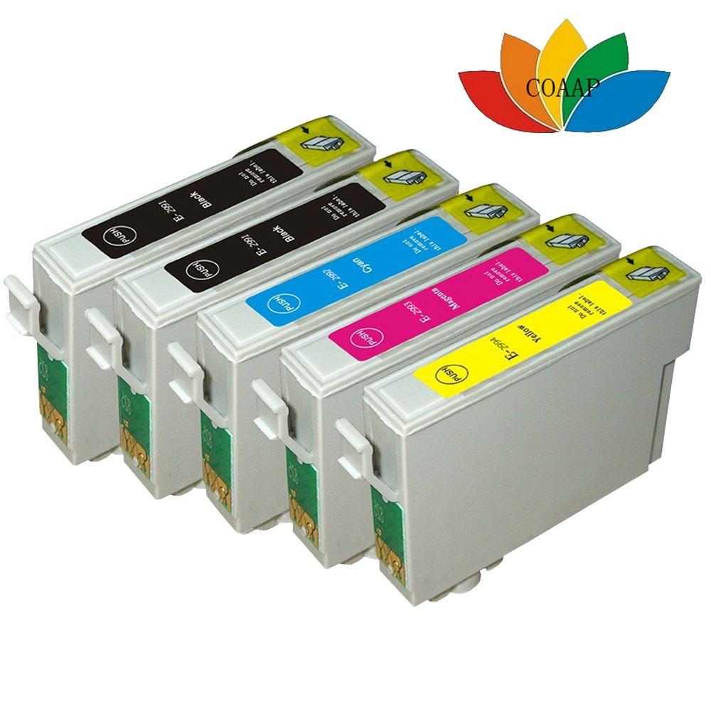 5x Comppatible EPSON 29XL Multipack T2991 T2992 T2993 T2994 ink cartridge for XP-235 XP-332 XP-335 XP-432 XP-435