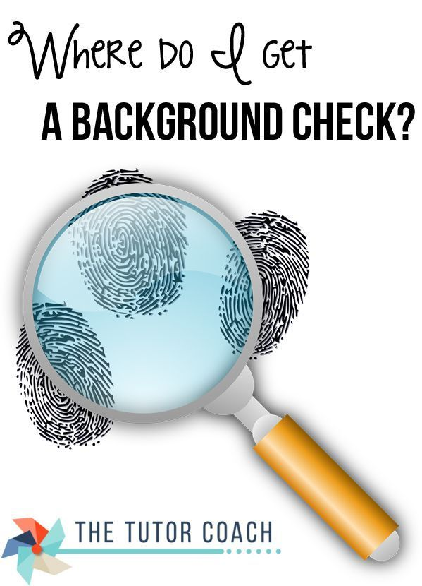 ask the tutor podcast  where do i get a background check