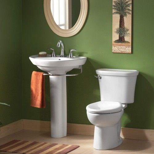 American Standard Tropic Cadet 3 Flowise Round Front Toilet With