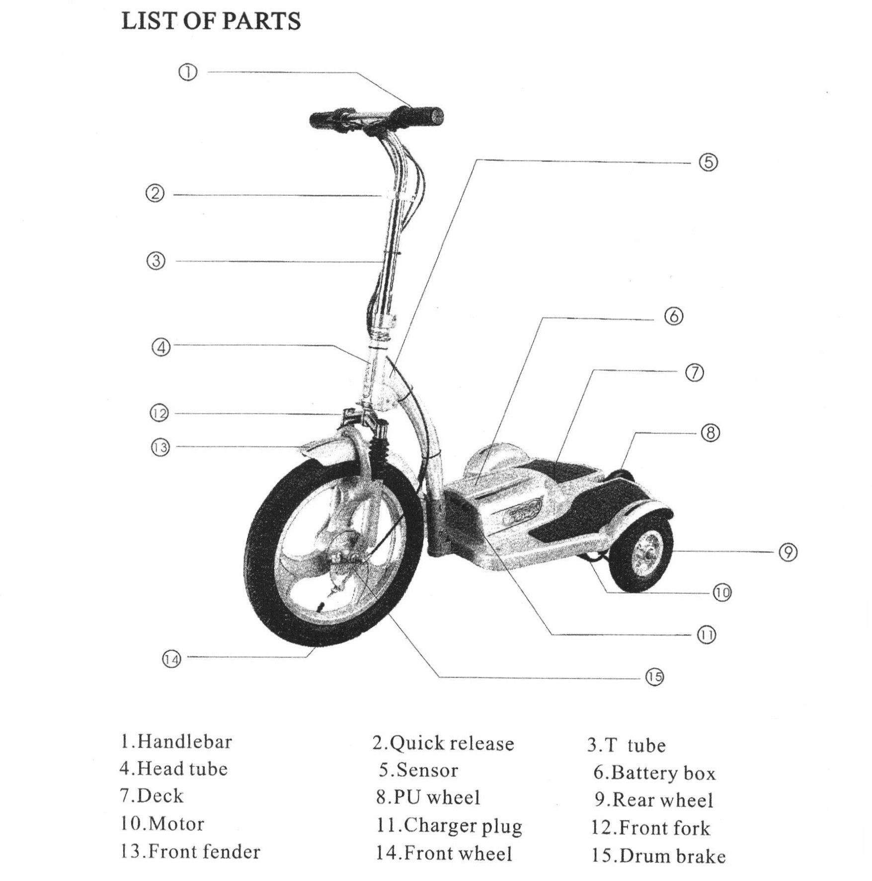 Wiring Diagram For A Gas Scooter Electric Scooters