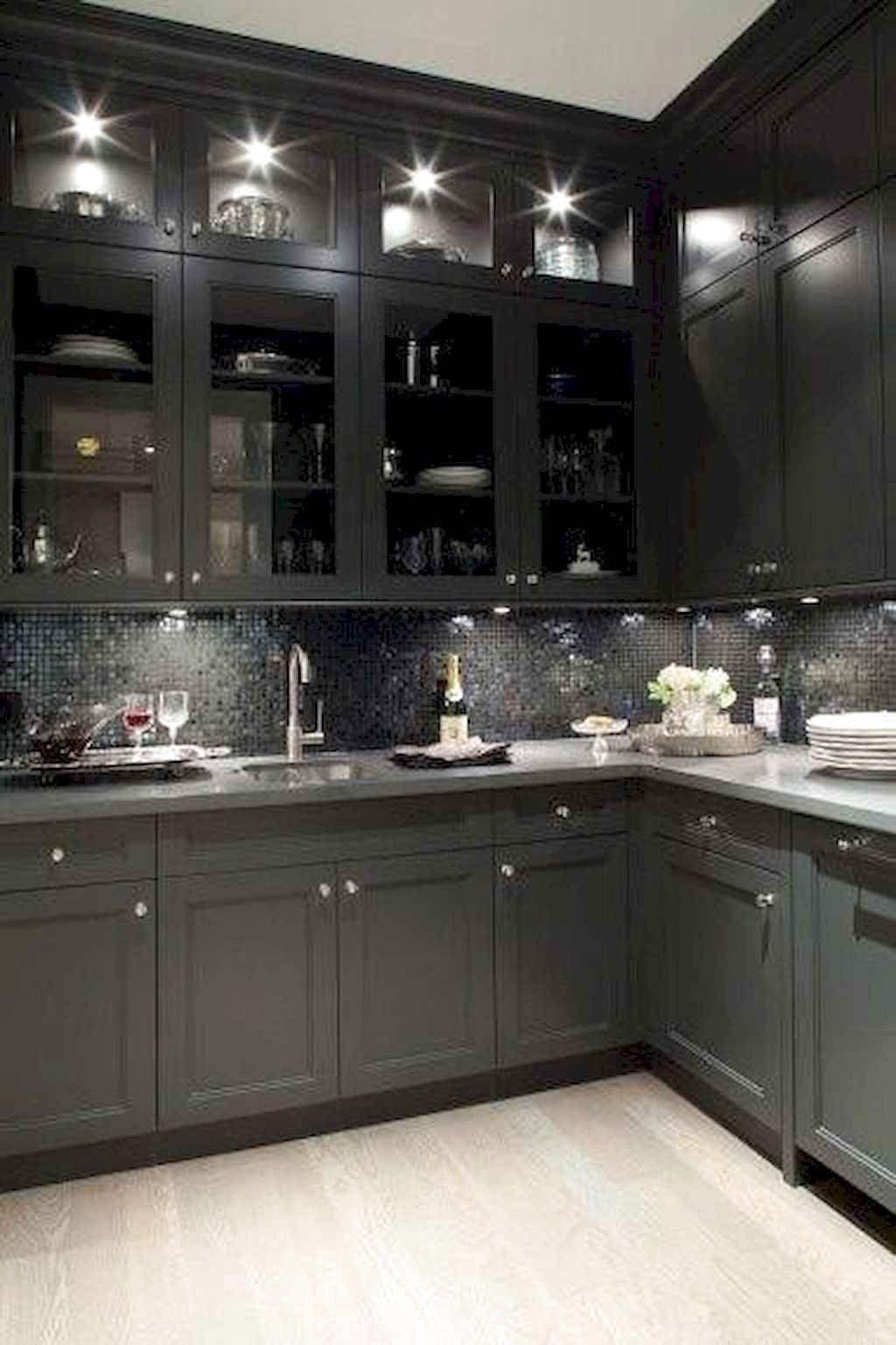 Best Black Kitchen Cabinets Design Ideas Frugal Living Shaker Style Kitchen Cabinets Modern Kitchen Design Kitchen Cabinet Styles