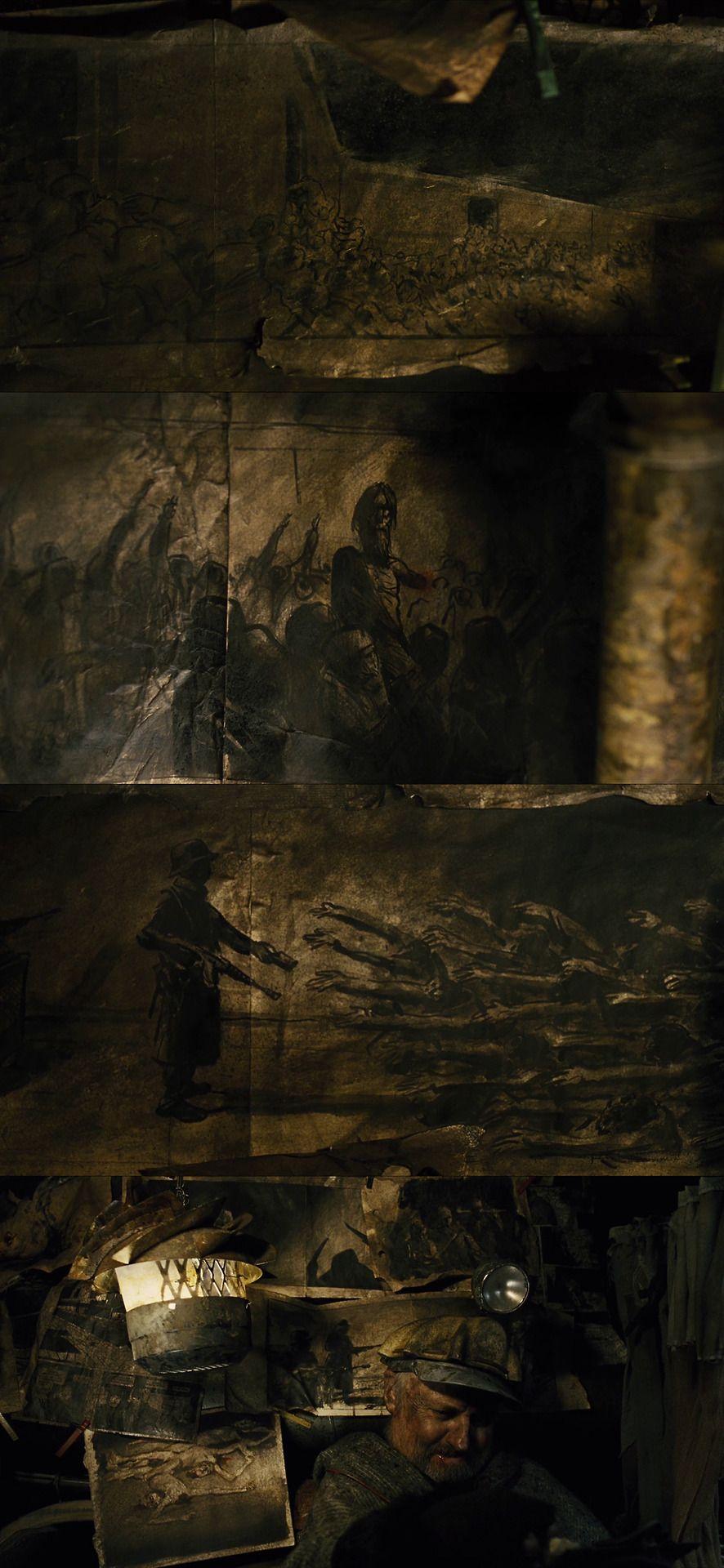 Snowpiercer Clark Middleton Science Fiction Film Cinematography Composition Cinematography