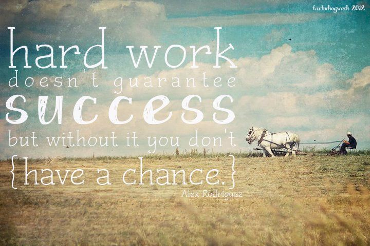 Hard Work Doesn T Guarantee Success Work Motivational Quotes Motivational Quotes For Success Work Success