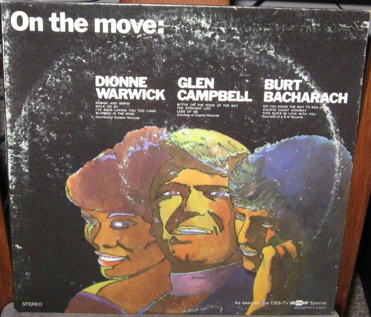 Dionne Warwick Glen Campbell Burt Bacharach Chevrolet Promotional Lp 1970 Wax Museum Songwriting Top 10 Hits