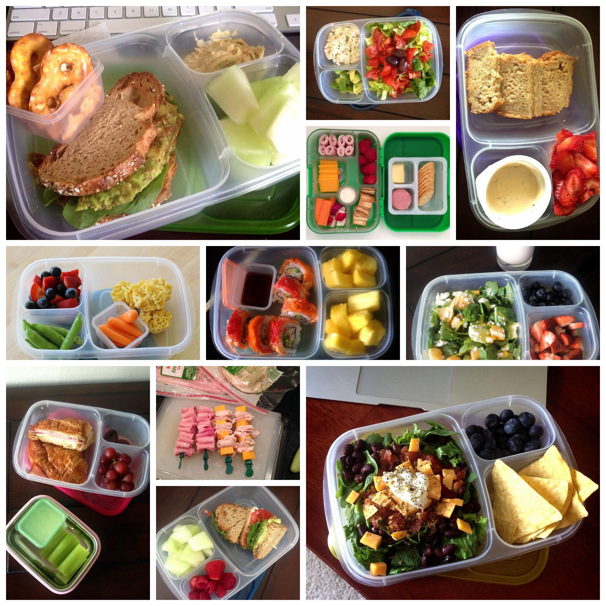 las mejores ideas unos almuerzos sanos en la oficina y en