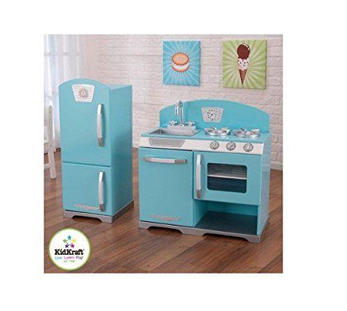 Kidkraft Kitchen Blue kidkraft 2-piece retro kitchen, blue kidkraft http://www.amazon