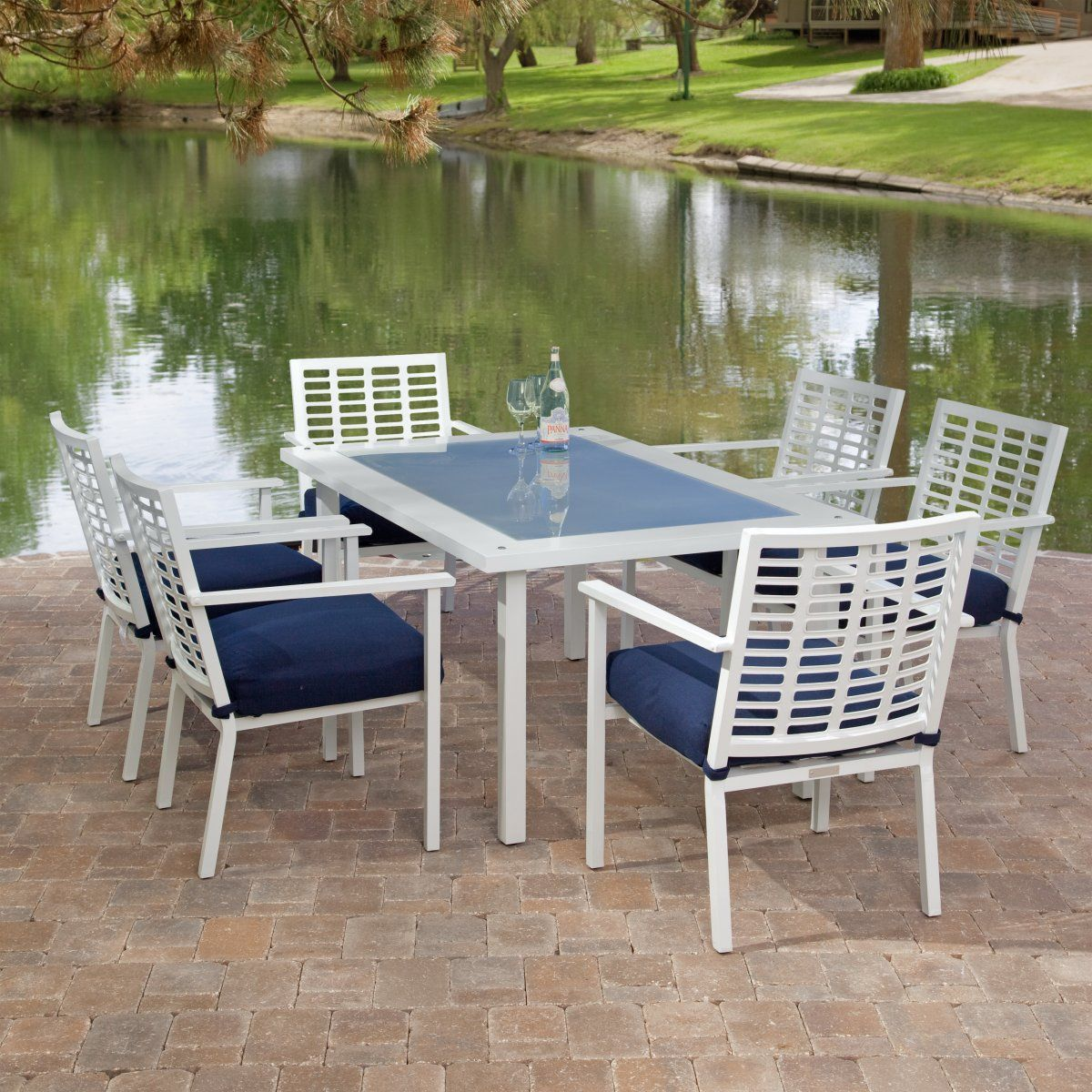glass top patio dining table glass top dining tables pinterest