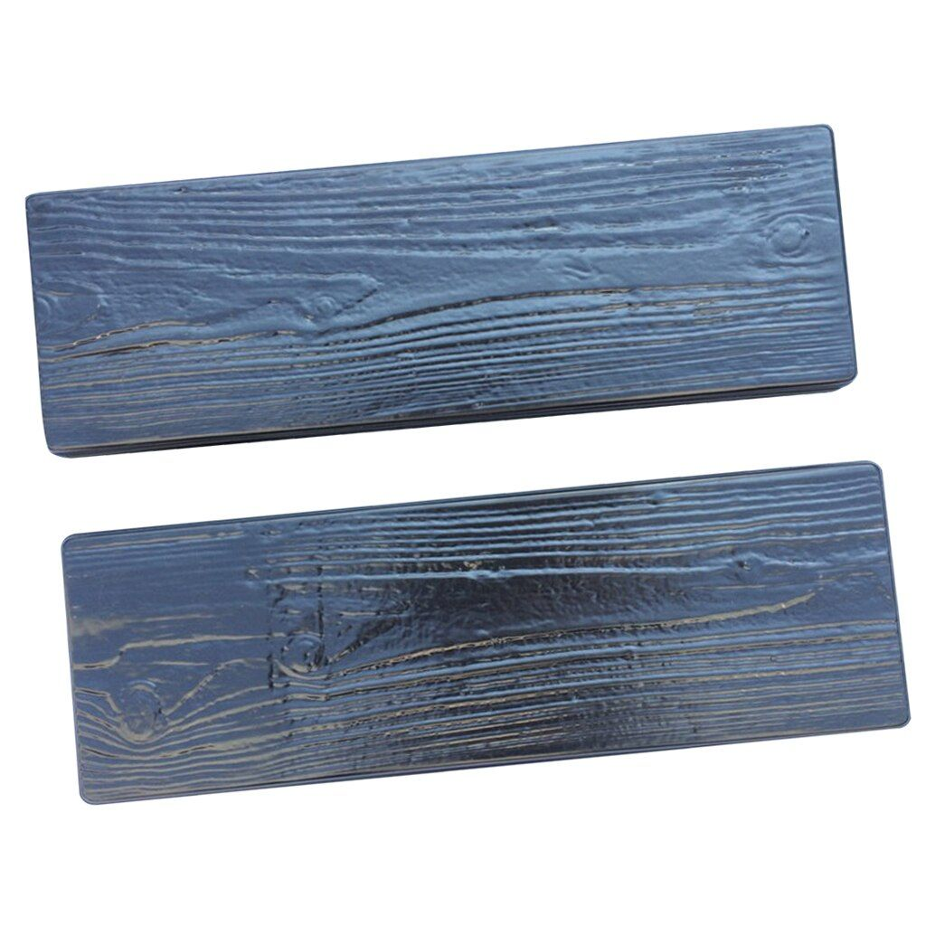 Photo of Special Offer  2Pcs Simulated Wood Grain DIY Plastic Garden Path Maker Mold Manually Paving Cement