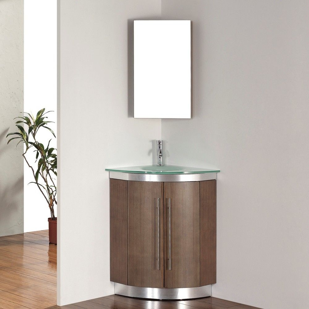 Effigy Of Corner Vanity Set Solution For Small Space Corner Bathroom Vanity Corner Vanity Contemporary Bathroom Vanity