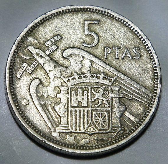 5 PESETAS JUAN CARLOS I 1999 UNCIRCULATED US SPAIN