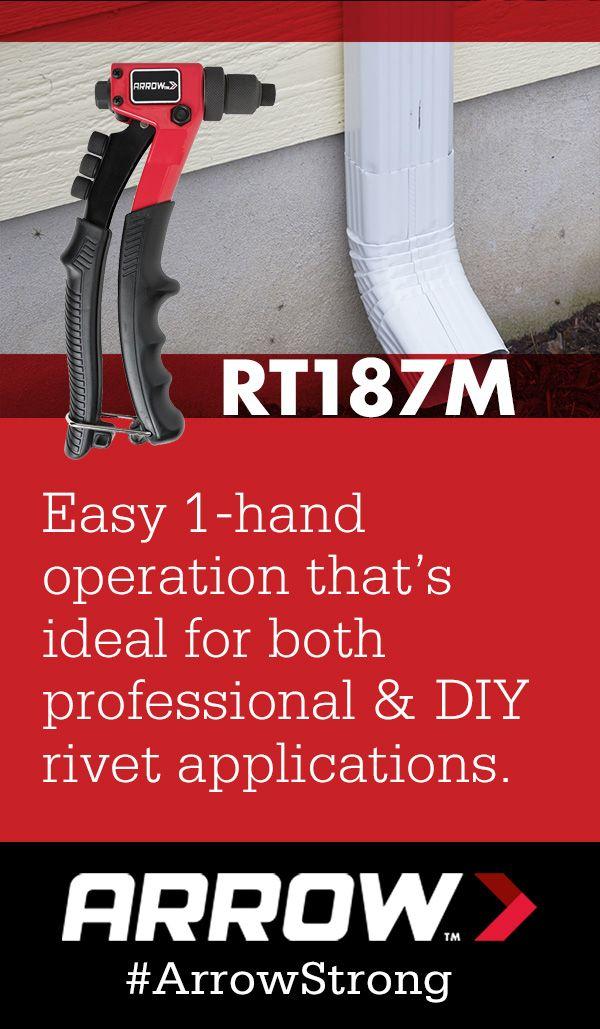 RT187M One-Handed Rivet Tool | Arrow's Rivet Tools | Tools