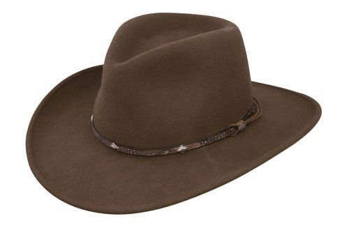 d354f1070 Stetson Men's Mountain Sky Crushable Wool Hat - Swmtsk-8132 Acorn at ...