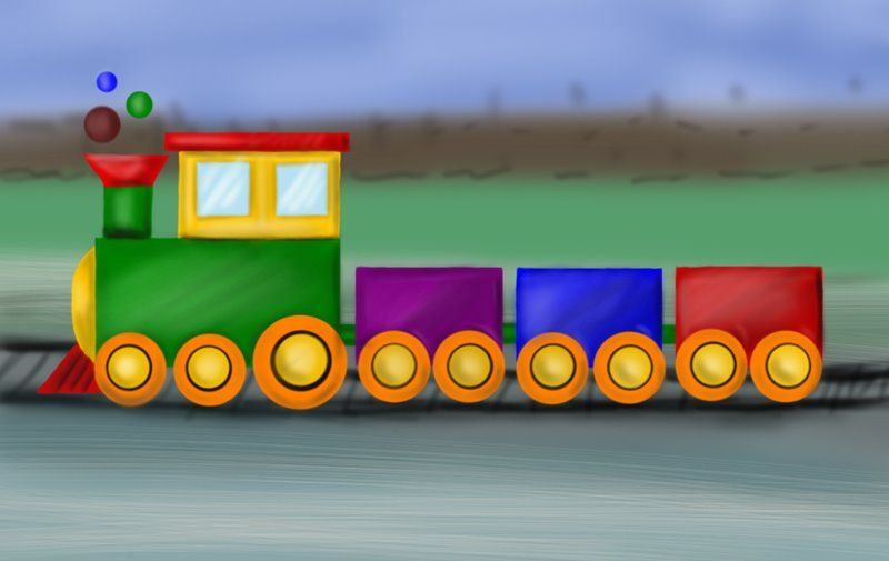 The Best Train Pictures For Kids To Draw