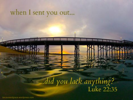 Image result for Luke 22:35