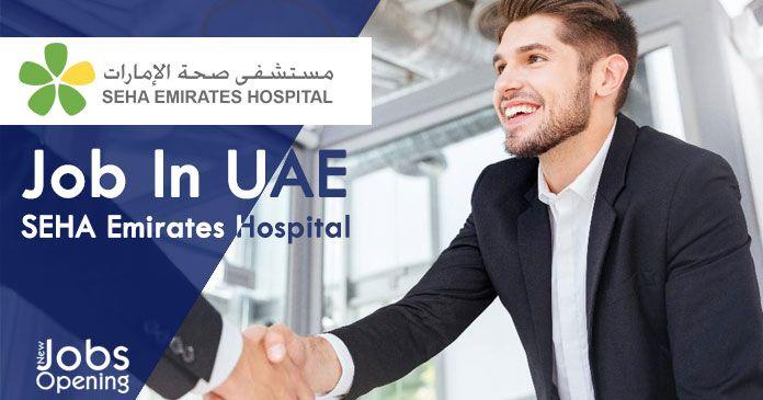 Job In UAE SEHA Emirates Hospital Job Openings UAE
