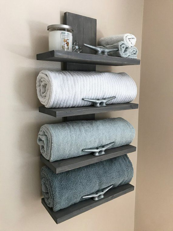 Photo of This towel rack would make a nice addition to any nautical themed home decor, as… – Pin Trend