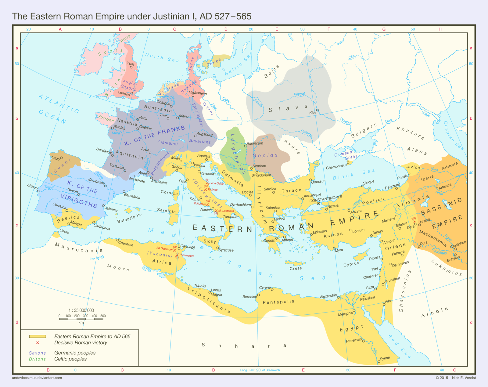 eastern roman empire map The Eastern Roman Empire Ad 527 565 Byzantine Empire Map eastern roman empire map