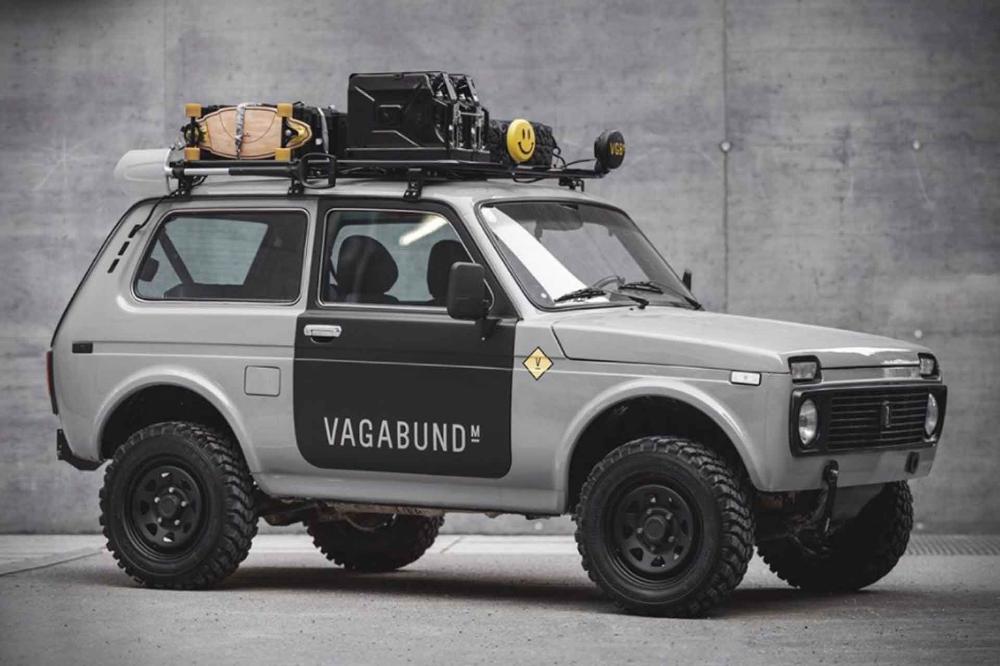 Vagabund Moto Lada 4 4 In 2020 Niva Custom Trucks 4x4