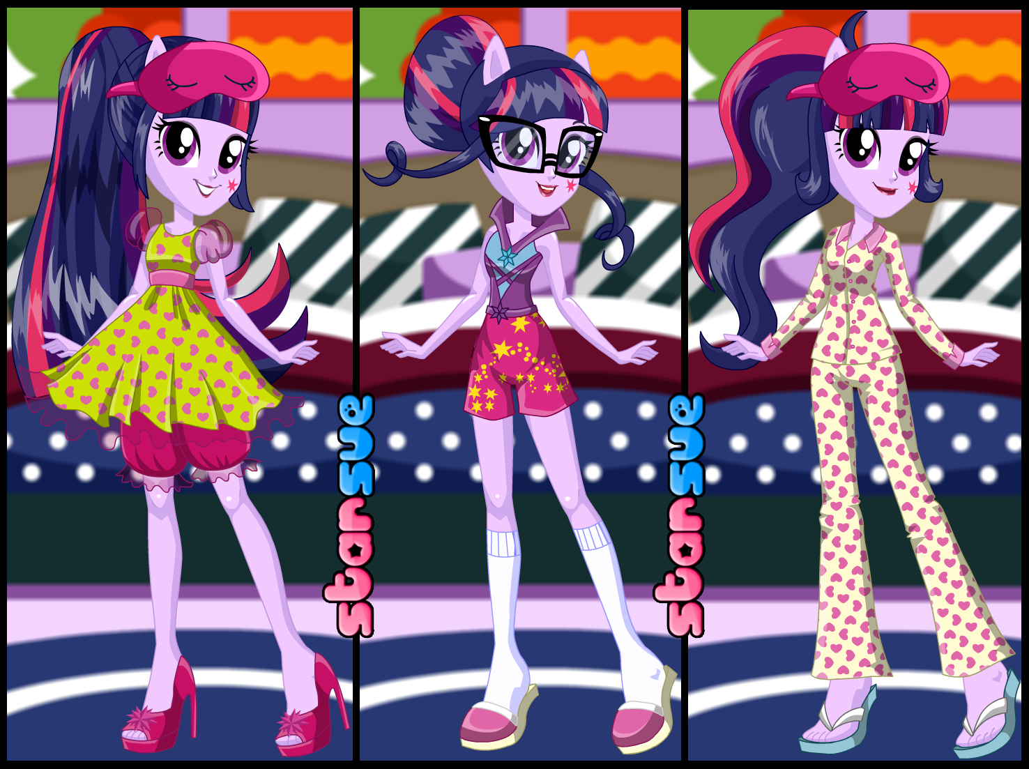 My Little Pony Girls Twilight Sparkle /& Fluttershy Pyjamas