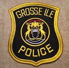 Grosse Ile Michigan Police Patch