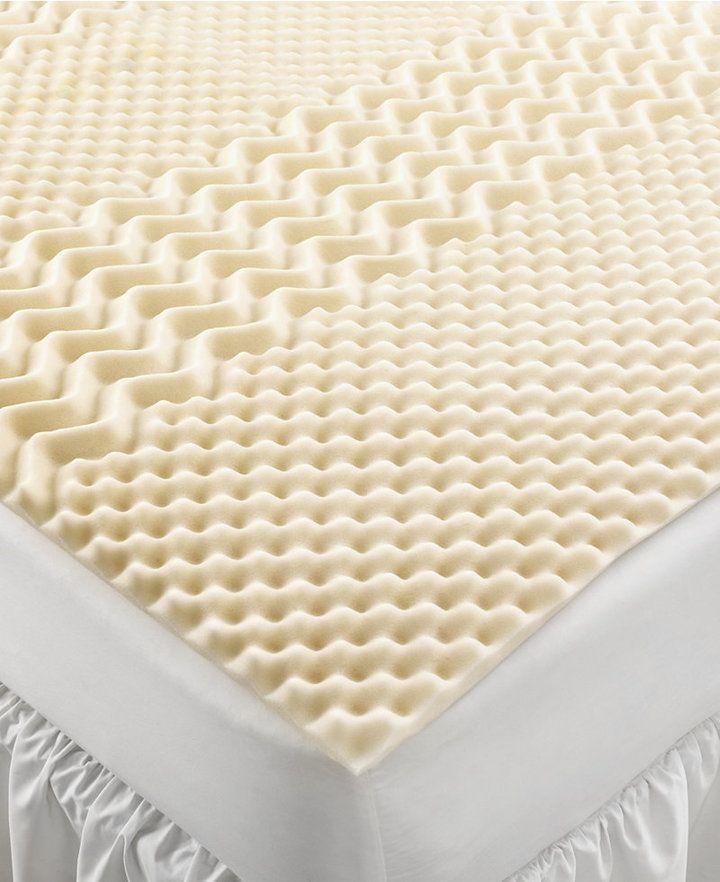 Amazing Home Design King Mattress Pad Part - 2: Home Design 5 Zone Memory Foam California King Mattress Topper Bedding