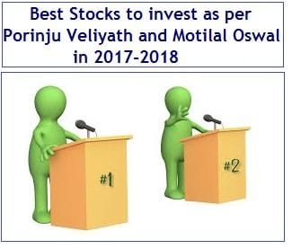 Best Stocks to invest as per Porinju Veliyath and Motilal ...
